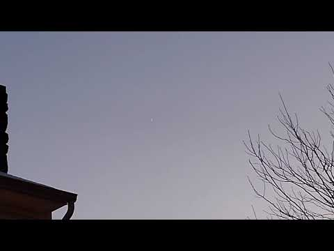 UFO Sighting in Glenn Dale MD Jan 5th, 2020 (Video)