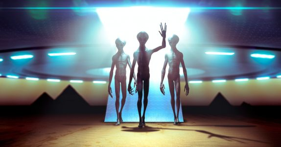 """""""THE REALITY OF UFOS IS NO LONGER A STIGMATIZED ISSUE. IT'S FACT."""""""