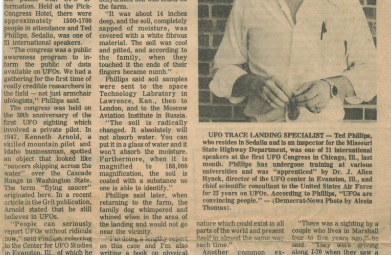 UFOs are Convincing People – No Longer Rare of Uncommon, Unknown Newspaper, July 21, 1977