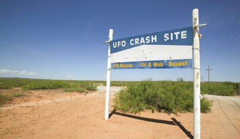 From flying boats to secret Soviet weapons to alien visitors – a brief cultural history of UFOs