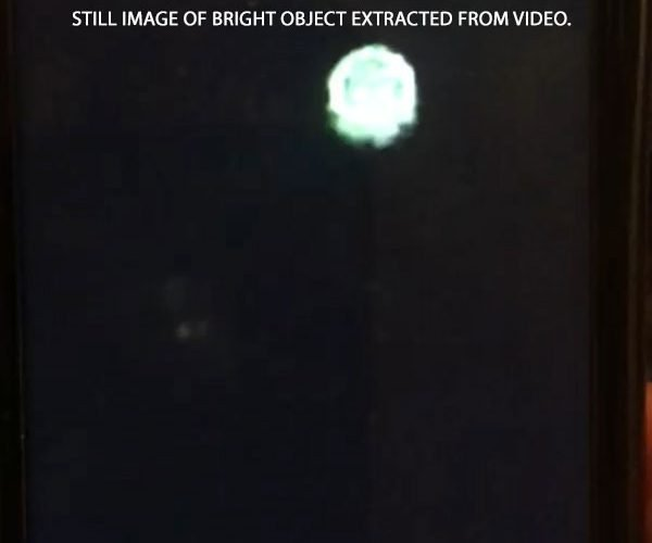 Video Taken of Bright Object That Moved Around Sky.